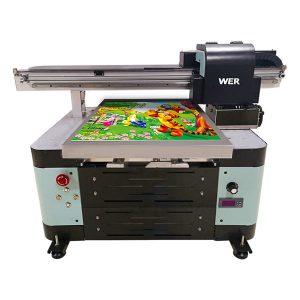 好價格a2平板小型uv打印機與愛普生打印頭