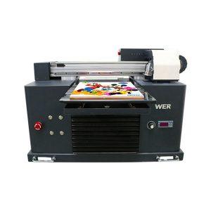 mini a3平板uv打印機,用於epson 1390打印機頭6種顏色