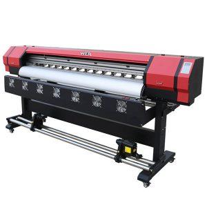 新名牌便攜式打印機eco溶劑智能dx5 a4平板打印機