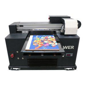 便宜的價格a4尺寸uv led平板打印機適用於任何材料