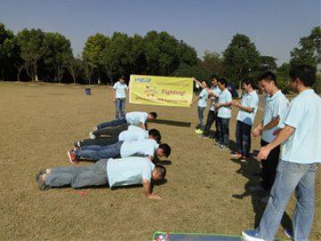 2017年秋季4月在Gucun Park舉辦的活動
